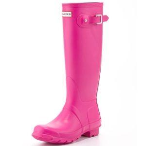 Hunter Org Tall Rain Boots